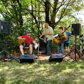 Stringed Instrument workshop outdoor concert! 2015