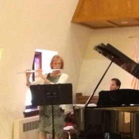 Performing at Seminole Presbyterian Church