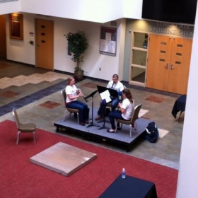 Mozart Clarinet Trio for Arts Unexpected Spring 2015