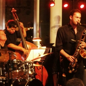 Performing W/ the Rebel Alliance Jazz Ensemble at the Dallas Museum of Art