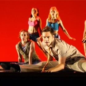 "Student Fred Oddgard on National Tour ""West Side Story"""