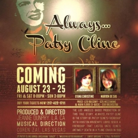 "I musical directed this fun show for a midwest and southern tour  ""Alway's Patsy Cline"""