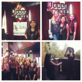 "Students performing at House of Blues Los Angeles ""Tunes for Tots"" show"