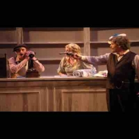 """Cold Sassy Tree"" by Carlisle Floyd with Wichita State Opera Theater. (Spring 2015) I am pictured on the left as Camp Williams."