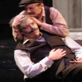 """""""Cold Sassy Tree"""" by Carlisle Floyd with Wichita State Opera Theater (Spring 2015). Role: Camp Williams"""