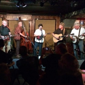 """Southern Connection"" playing on stage at the world famous Station Inn, Nashville, TN."