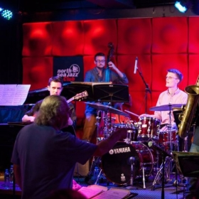 Performing at the North Sea Jazz Club, Amsterdam, NL