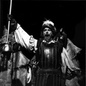 "Gregory S. as Don Quixote in Knoxville Opera's ""Man of La Mancha"""