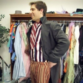 Stephen can also teach you how to dress.