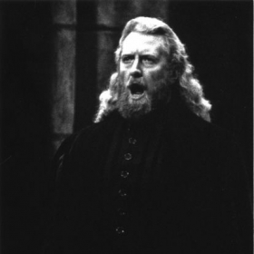 "Gregory S. as Raimondo in Greater Miami Opera's ""Lucia di Lammermoor"""