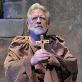 Gregory S. as Friar Lawrence with Townsend Opera in the Gallo Center