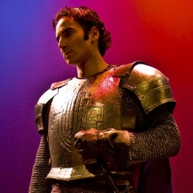 """As Lancelot in the Broadway National Tour of """"Camelot"""""""