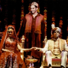 "As Akmed in the original Broadway cast of ""Bombay Dreams"""