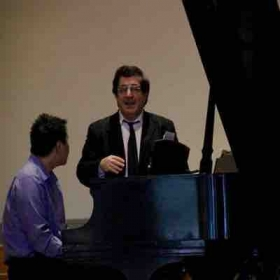 Masterclass with Sergei Babayan, one of the world's renowned artists.
