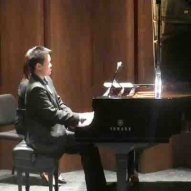 Concert--performing Ravel's Mother Goose Suite.