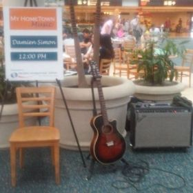 Playing set at Orlando International Airport 2015