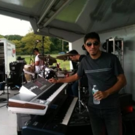 Concert in North Hempstead Beach Park / New York