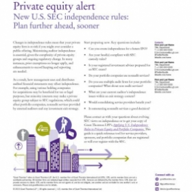 InDesign Layout for Grant Thornton