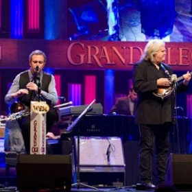 Playing with The Getty's and Ricky Skaggs at the Grand Ole Opry - March 2012