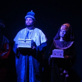 AMAHL AND THE NIGHT VISITORS | UAHuntsville Opera Theatre | King Kaspar | 2008