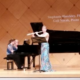 Stephanie Hoeckley's 2nd Master's Recital - February 2015