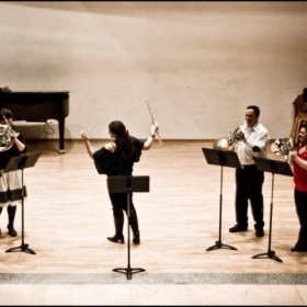 Bird of the Forest Horn Quartet and Flute