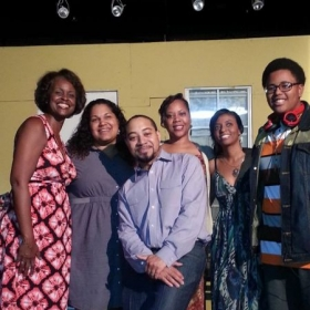 """Actors from stage play """"The Letter"""""""
