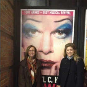"My mom and I just saw ""Hedwig and the Angry Inch"" w/ Michael C. Hall. He blew the roof off the theater!"