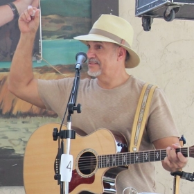 Performing with the Top Rail Bluegrass Band at the Country - Bluegrass - Irish Festival August 30, 2015