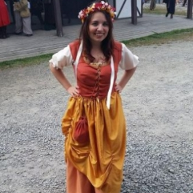 One of my more recent creations- a Renaissance Faire costume!
