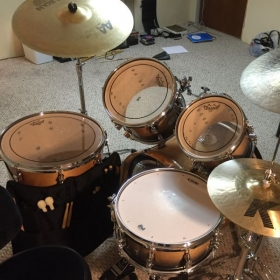 I have a nice drumset and practice/rehearsal space.