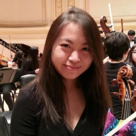 A picture taken during a Carnegie Hall Oberlin Conservatory orchestra tour