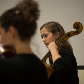 String quartet performance in Miami, FL, July 2015