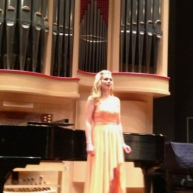 Senior Recital; University of South Carolina, 2013