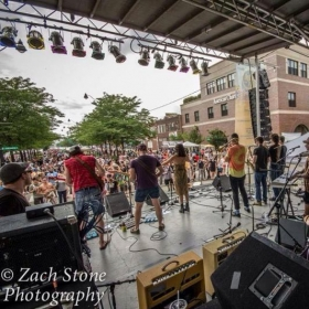 Taste of Randolph with original funk band Nasty Snacks.