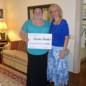 Amanda Strader (DZ Voice Studio Student)  Winner/1st Place at the Classical Singer Competition, San Antonio, Texas