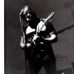 One of my early Rhode Island rock-star shots from years ago. Performing with Curio in Providence, RI.