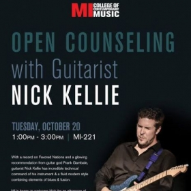 My clinic at Musicians Institute in Hollywood, CA