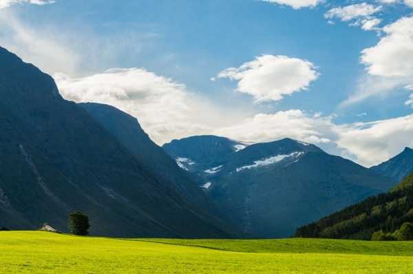 Landscape of Sunnmøre, Western Norway