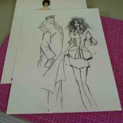 Love to teach fashion illustration!