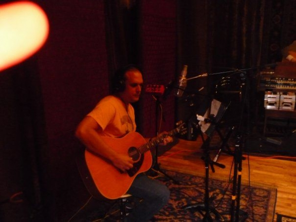 Recording my first solo record here. 2009
