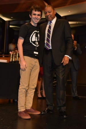 My longtime student Chris Palmer wins the outstanding musician award from Wynton Marsalis at the Essentially Ellington competition in NYC!