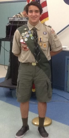 Scout Merit medals and badges