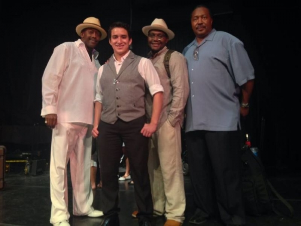 My mentors (from left to right) Fernando Jones, Patrick McFowler, and Felton Cruz.