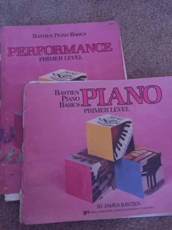 These are the books I started learning to play piano with when I was only 5 years old!