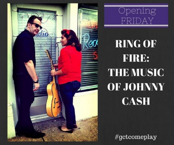 "placard for ""Ring of Fire"" production"