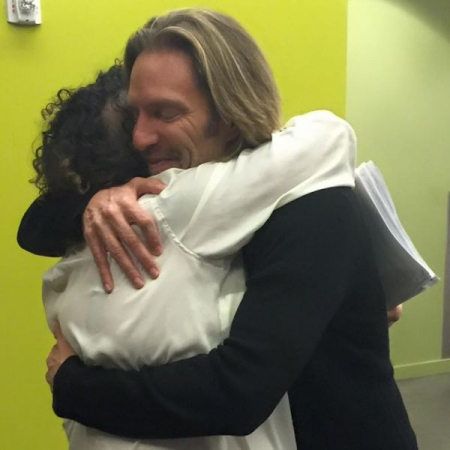 After performing for Eric Whitacre, a Grammy-winning American composer and classical rockstar!
