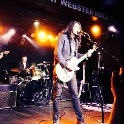 Performing at Webster Hall