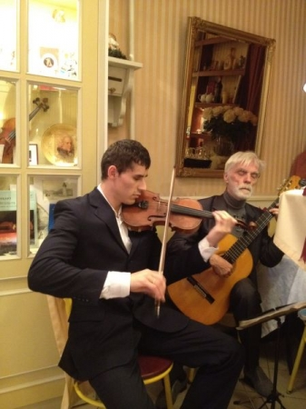 Guitar duo performances 2002-2015