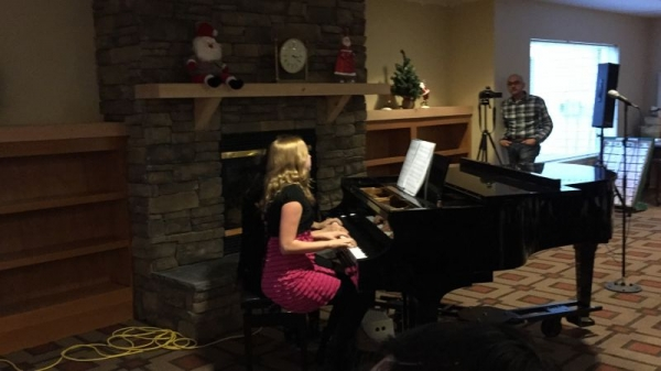 Sophie Gillespie at the Winter Recital 2015